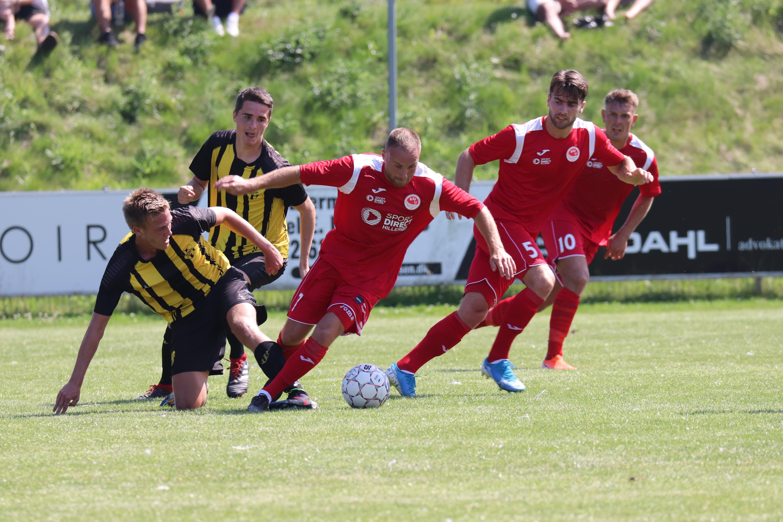 Hårdt arbejde gav sejr i åbningskamp - Ballerup-Skovlunde